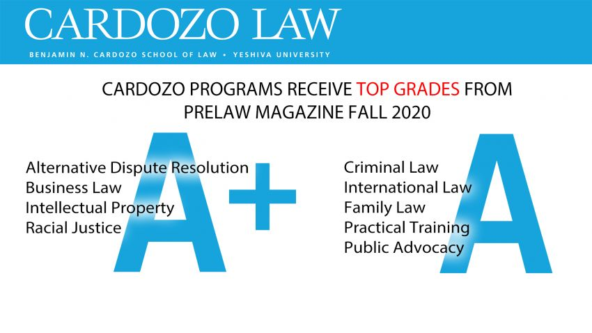 Cardozo Ranked 6th in Racial Justice by PreLaw Magazine